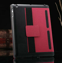 2015 Wholesale China New Special stand cover OEM Price stand case for apple ipad, leather cover for ipad, for ipad 2 smart cover