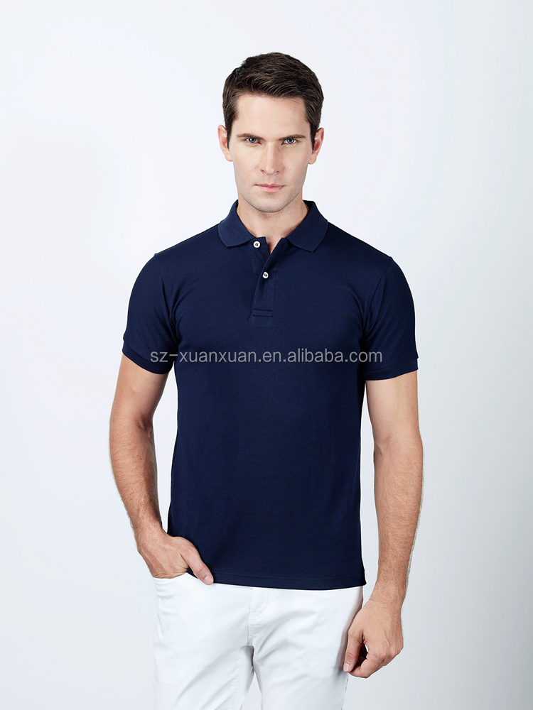 2016 New Style Slim Fit Cotton Men Polo Shirt