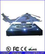 Magnetic levitation device with plane for business gift home decoration