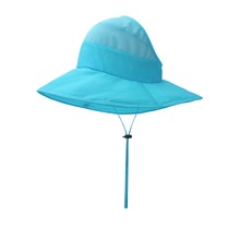 Latest design semi-empty top polyester and mesh fashion custom fresh bucket <strong>hat</strong>