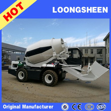 Small Self Loading Mobile Concrete Mixer Truck Price LXJB100