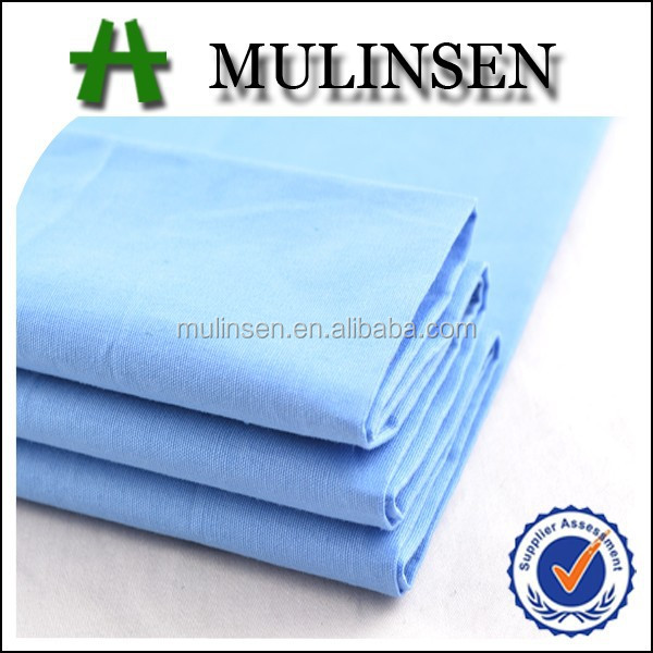 Mulinsen textile poplin fabric with good color fastness jakarta cotton fabric for shirt