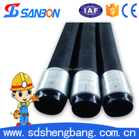 Over 10 years experience 85bar rubber hose concrete pump hose concrete pump spare parts