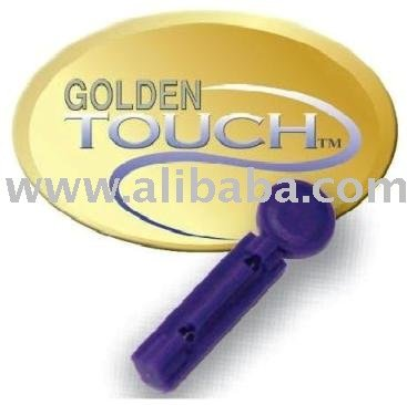 A Golden Touch Lancet