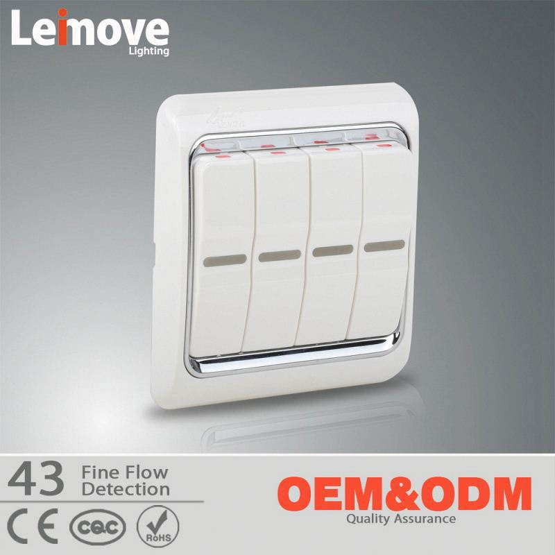 Professional OEM/ODM Factory Supply wall switch glass panel with bevel edge and mirror effect