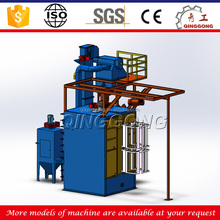 Spinner Hanger Type Shot Blast Cleaning Machine/ Bead Blasting Machine