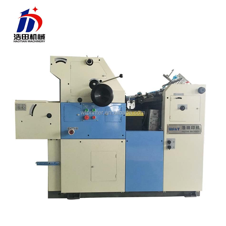 commercial invoice/bill single color offset printing machine price