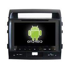 For Land Cruiser 200 Android 4.4 Bluetooth Audio Radio 3g Wifi MP3 GPS Car DVD Player