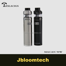 New vape Mod Tesla Macan 90W starter kit easily use unregulated mod from Teslacigs factory