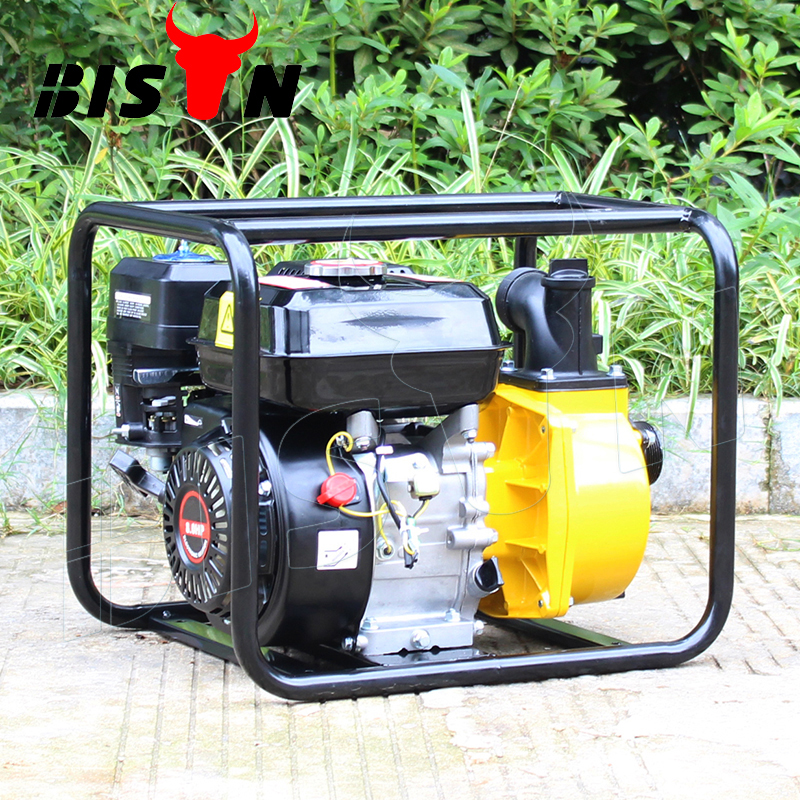 CE certificate mini gasoline water pump wp20, 5.5hp gasoline water pump, 3 inch gasoline engine water pump