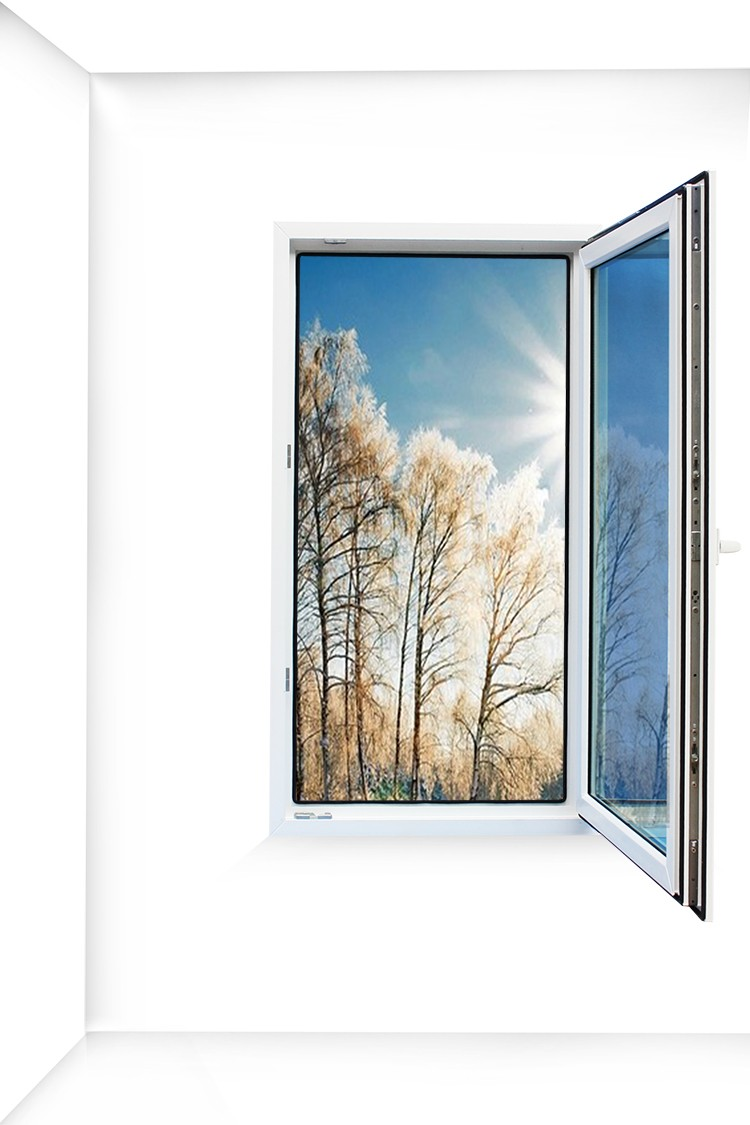 PVC casement window stay