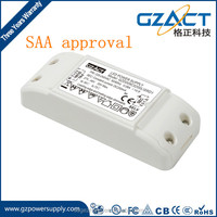 12W 15W 500mA constant current triac dimmable led driver with TUV SAA CE approval