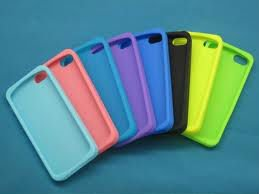 Custom moulded Silicone cases for iphone 5
