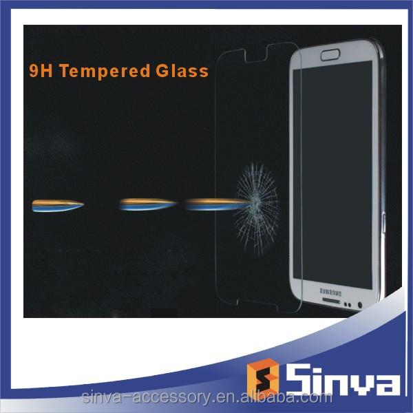 High Clear scratch resistant tempered glass screen protector For Samsung Galaxy S6 free sample