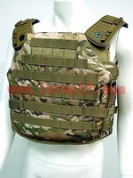 Tactical Molle Plate Carrier Recon Armor Combat Vest Multi Camo /Wholesale Military Bulletproof Vest