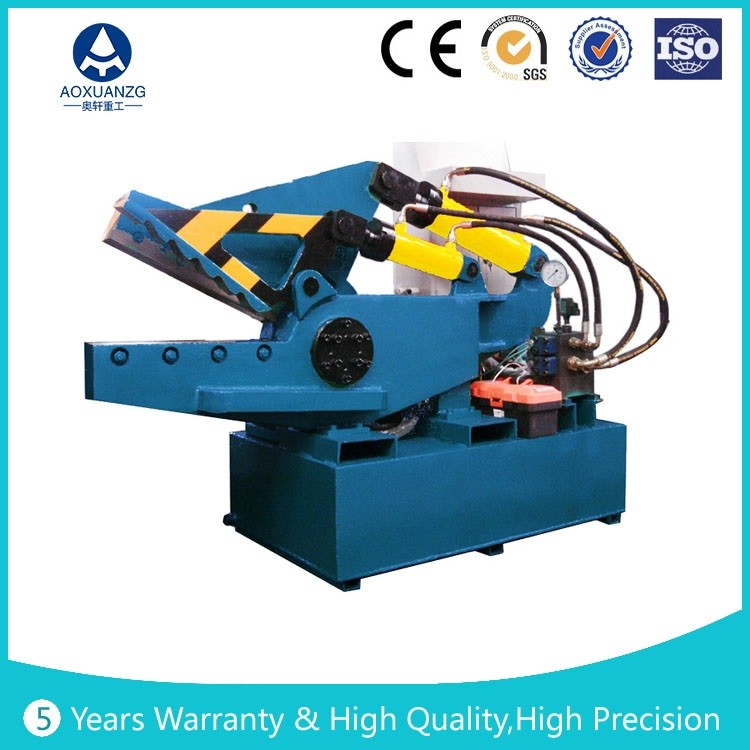 Q43 series Crocodile Hydraulic Metal Shear waste recovery machine/Waste scrap sheet shears