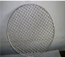 ss and low carbon steel circle barbecue wire mesh