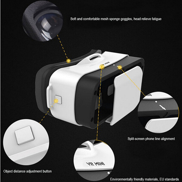 perfet 3D virtual reality game vr headset