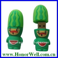 Cartoon USB Flash Drive Watermelon Style