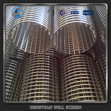 aisi304/316 sieve bend strong packing hengyuan wedge wire screen