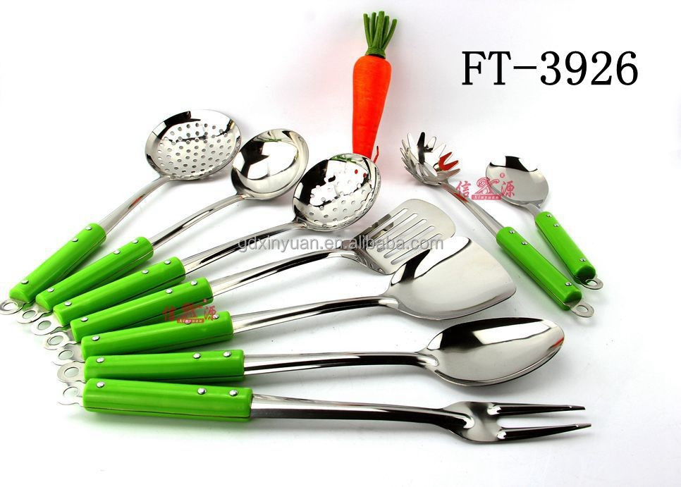 Kitchen Utensils with stainless steel kitchen accessories/home utensils