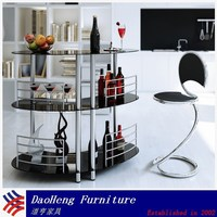 Commercial and home wine mini tempered glass bar counter