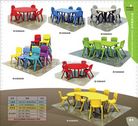 Table And Chairs For Kids height adjustable student desk and chair