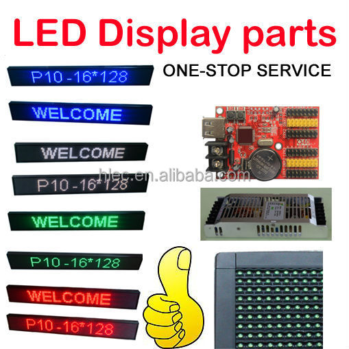 <strong>LED</strong> display KIT: <strong>LED</strong> <strong>Module</strong>, control card, power and frame, parts one stop service