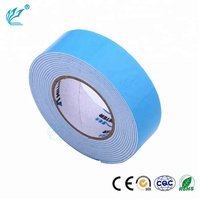 green film double sided speciality tape 1mm thick mirror mounting fireproof cloth tape fingerboard foam tape