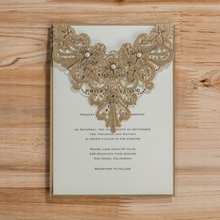 WISHMADE CW5239 Latest high quality handmade birthday invitation cards