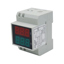 D52-2042 Double Display AC0.1-99.9A Digital AC Voltmeter Alternationg Voltage Current <strong>Meter</strong>