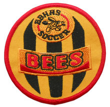 captain Bee plain captain embroidery patch/badge