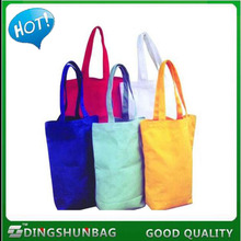 Promotional Top Quality Solid Color Cotton Resuable Shopping Bag