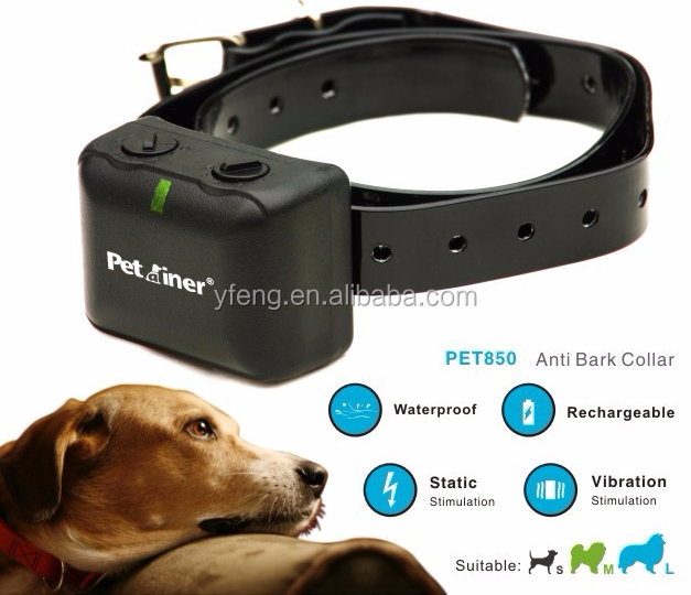 Factory wholesale electronic shock anti bark collar petrainer PET850
