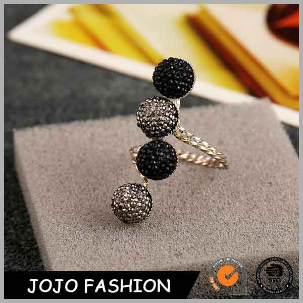 Fashion Simple Nail Vintage Resin Finger Ring Design