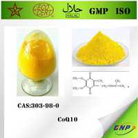 BNP GMP/FDA/ISO/Kosher professional supply high quality 99% CoQ10