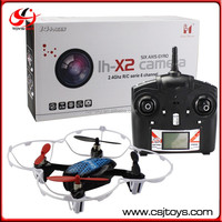 Lead honor LH-X2 TOYS 2.4G 4CH RC professional drone plane with 0.3MP camera.
