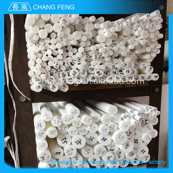 Promotional Various Durable Using ptfe natural color ptfe teflon rod extruded ptfe rod