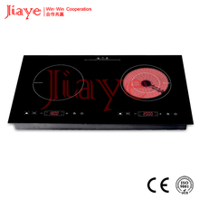 solar induction cooker / Double burner ceramic induction burner hob JY-ICD2003