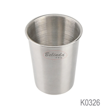 China Supplier Drinking Mug 304 Stainless Steel Cup for Beer