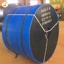 wear resistant EP100 EP150 2 ply rubber din 22102 conveyor belts