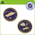 Custom 3D Lucent Color Navy Military Challenge Coins