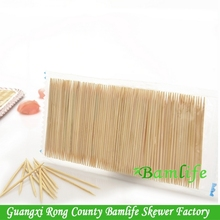 Good round body bamboo skewers and toothpicks