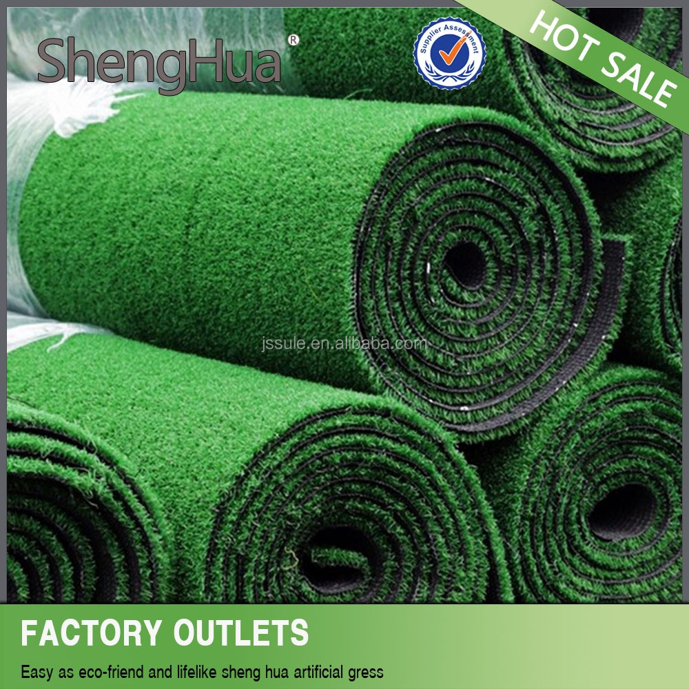 High UV-stability second hand football artificial grass