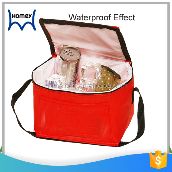 Custom branded isothermal waterproof cool lunch bag