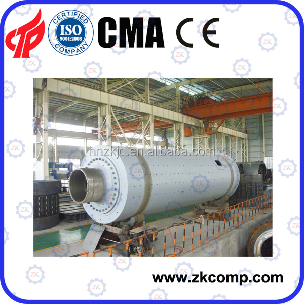 Tube two chamber cement mill for closed circuit grinding system