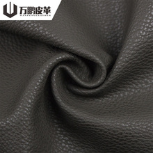 Eco-Friendly Raw Material Litchi Pattern Embossed Water Based Pu Synthetic Leather For Bag