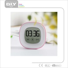 Touch screen kitchen craft countdown countup digital timers compact size mini digital novelty digital
