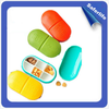 /product-detail/fda-approved-food-material-six-compartment-pill-case-travel-pill-container-multicolor-tablet-box-60468259418.html