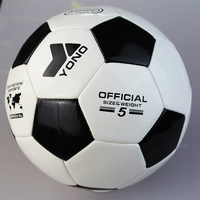 high quality promotional machine stitched PVC size 5 soccer ball football/professional PU soccer ball /cheap